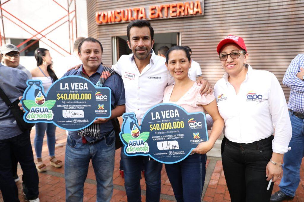 'La provincia dulce de Cundinamarca' recibió la visita del gobernador en su sexta gira