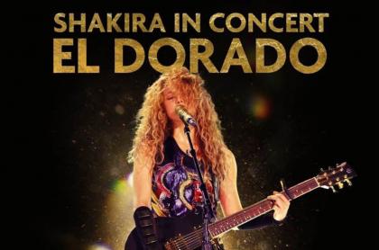 """Shakira, """"conmovida"""" por acogida de película sobre su gira 'El Dorado'"""