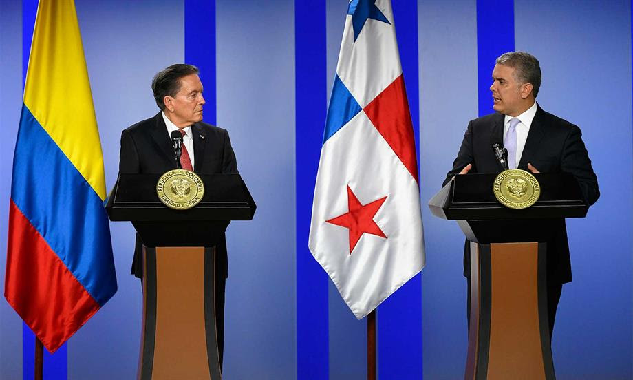 Presidente Duque destaca conformación de Gabinete Binacional Colombia – Panamá para abordar temas como seguridad, migración, inversión y comercio