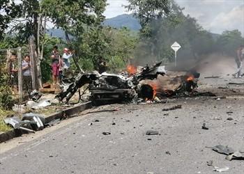 Explota carro bomba en Cubará, Boyacá