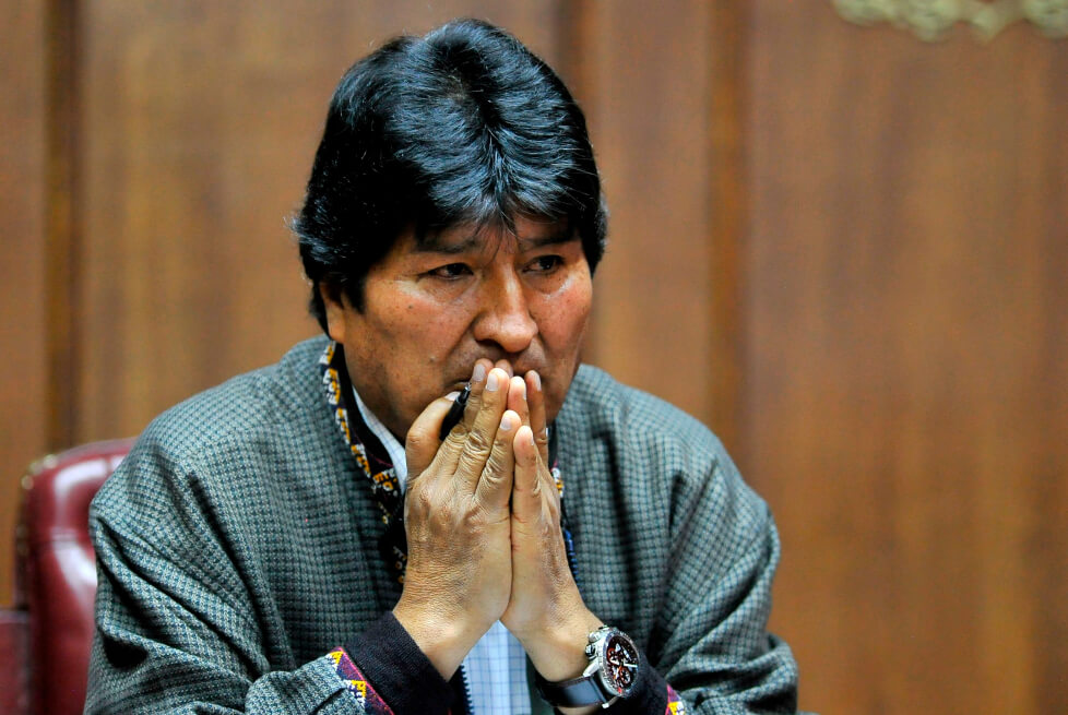 Fiscalía boliviana ordena detener a Evo Morales