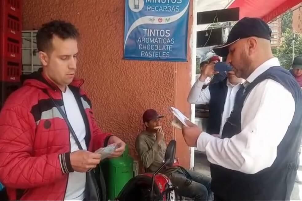 Migración Colombia expulsará a vendedor de Rappi que grabó la casa del presidente