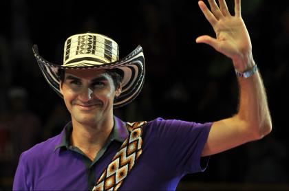 ¡Qué grande! Roger Federer volverá a Bogotá para que sus fans no pierdan dinero