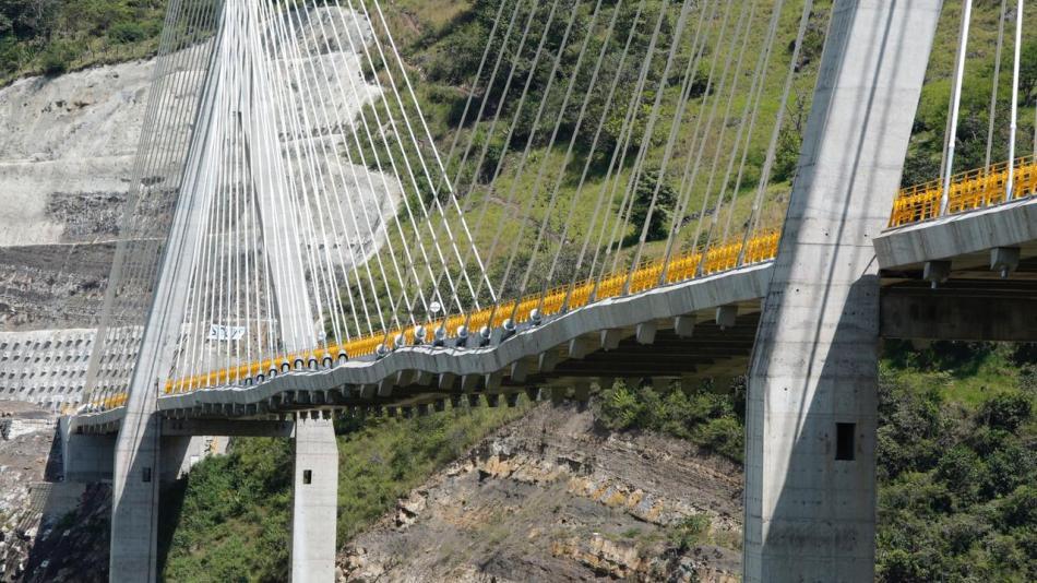¡Por fin! Fue inaugurado el puente atirantado Hisgaura en Santander