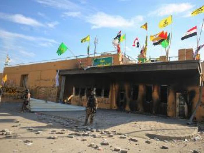 Dos cohetes impactan cerca a la embajada de EE.UU. en Bagdad