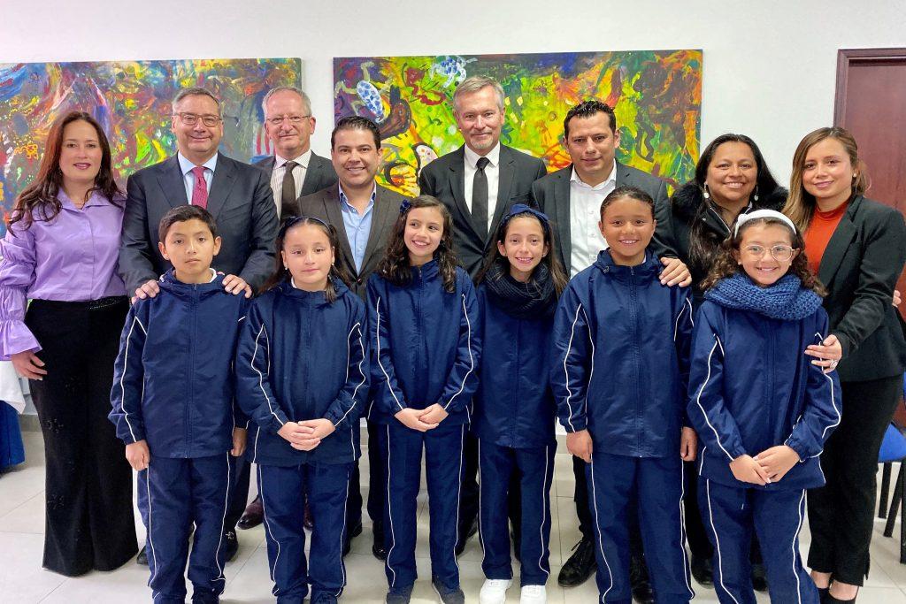 Programa de Integración Lingüística vincula estudiantes de instituciones educativas oficiales de Chía con El Liceo Francés Louis Pasteur
