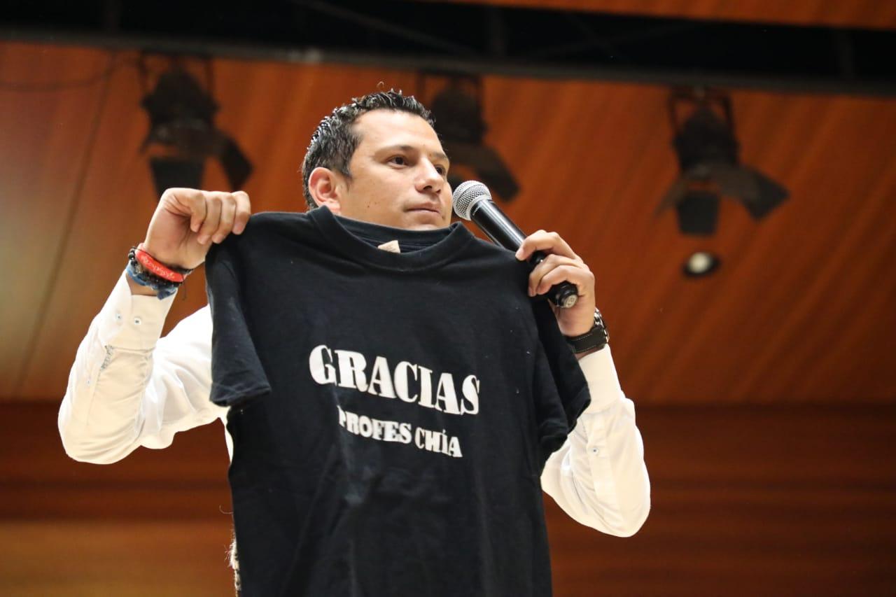 Bienvenidos gestores de la 'Chía EDUCADA'