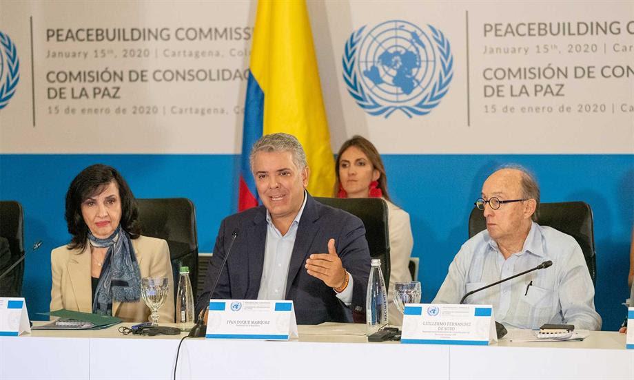 'La paz no tiene dueño, no le pertenece a ningún líder político; la paz le pertenece a la sociedad entera': Presidente Iván Duque