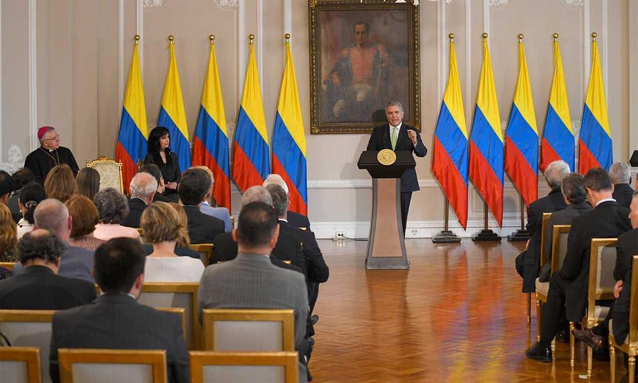 A la dictadura de Venezuela le corresponde aplicar la deportación de Aída Merlano, simple y llanamente porque hay una circular roja de Interpol: Presidente Duque