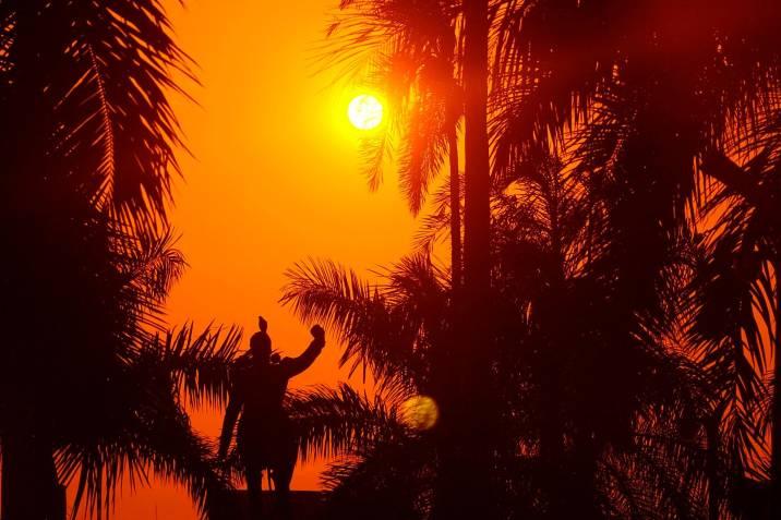 Este miércoles ha sido el día más caluroso del año en Bucaramanga