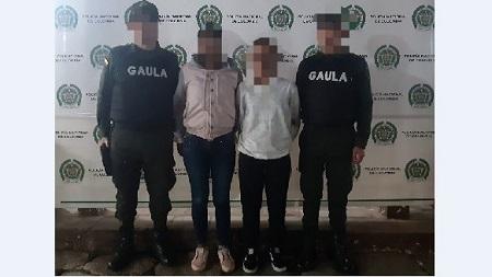 Capturadas en Chía por extorsionar mujer de Zipaquirá, Cundinamarca