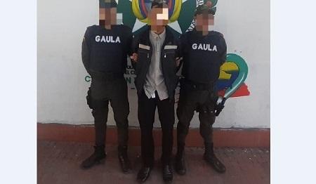 Cayó presunto extorsionista en Zipaquirá, Cundinamarca