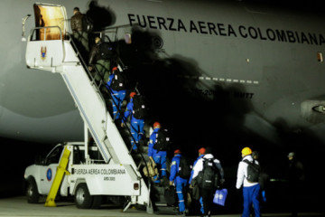 Parte de Corea a Wuhan avión que irá por los colombianos repatriados