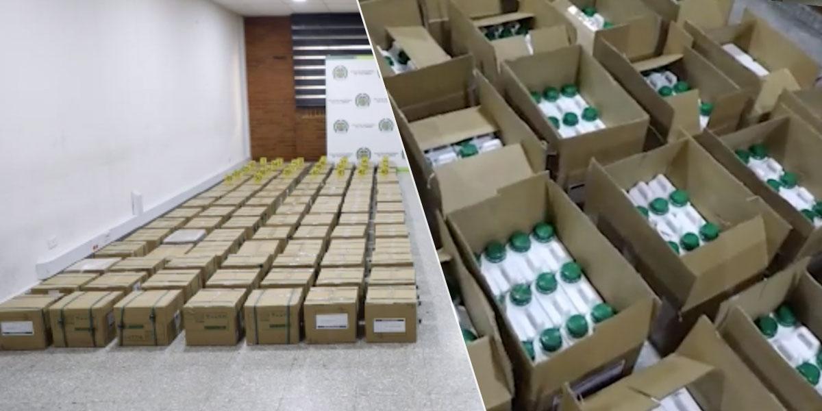 Cae cargamento de cocaína con nueva modalidad de ocultamiento en aeropuerto El Dorado de Bogotá