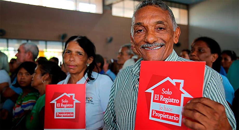 Gobierno Nacional facilita los procesos de titulación de viviendas y legalización de barrios en asentamientos informales