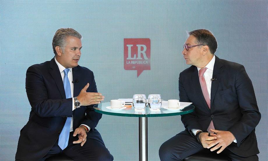 Ley de Crecimiento Económico, recursos de regalías e inversión en vías terciarias impulsarán la creación empleo en el campo colombiano: Presidente Duque
