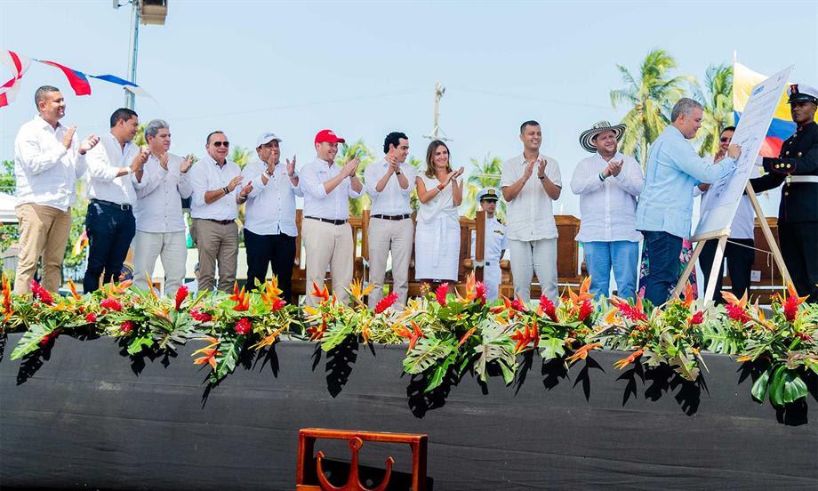 Estaré supervisando y seré el interventor en jefe de este Pacto del Golfo de Morrosquillo, dijo el Presidente Duque al presentar la hoja de ruta para el desarrollo económico y social de la región