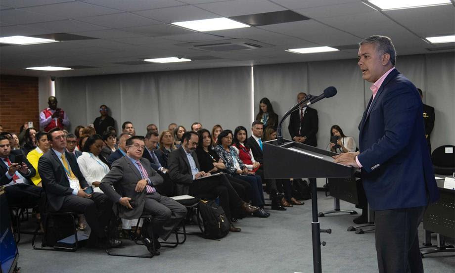Presidente Duque propone a Secretarios de Salud del país un pacto para despolitizar la selección de los gerentes de los hospitales públicos