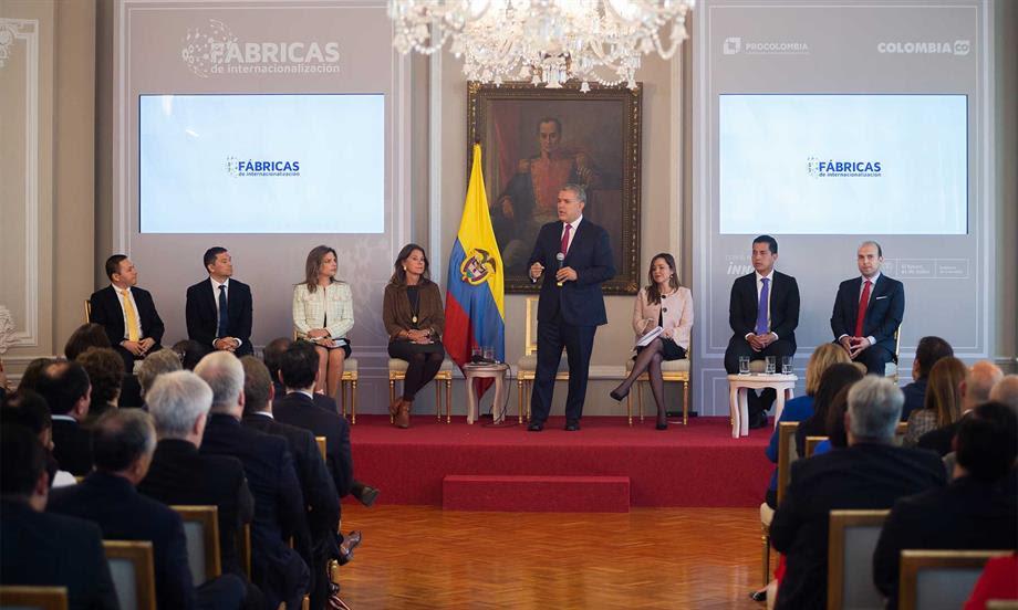 Este es el año en el que tenemos que salir a exportar más y ponernos en la tarea de conquistar más mercados: Presidente Duque