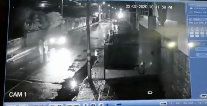 Dos atropellados en Cajicá por un carro fantasma