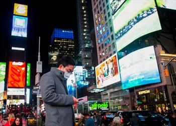 Nueva York apaga sus luces por el coronavirus