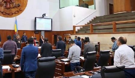 Covid -19: Asamblea de Cundinamarca suspende atención al público
