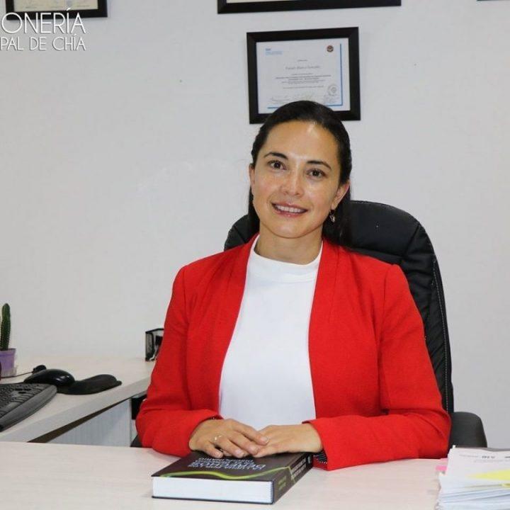 Faisuly Blanco González, es la nueva Personera Municipal de Chía