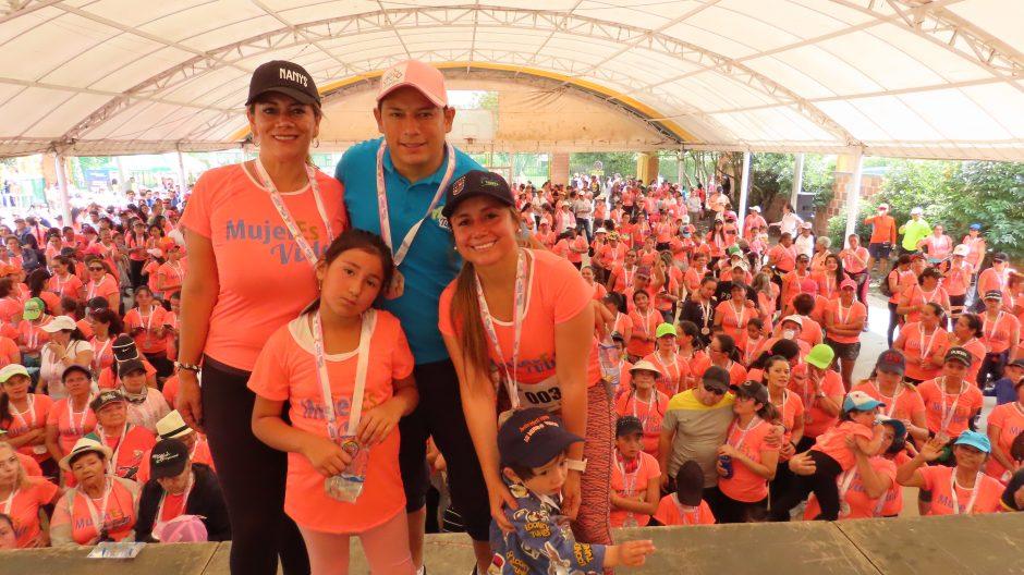 Chía conmemoró con deporte el día internacional de la mujer