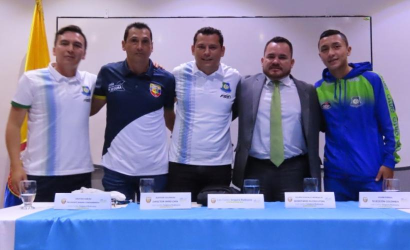 """Chía presentó equipo profesional de futsal """"Sabana Cundinamarca Chía"""""""