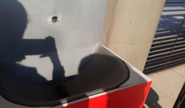 Lavamanos instalados en Transmilenio fueron dañados