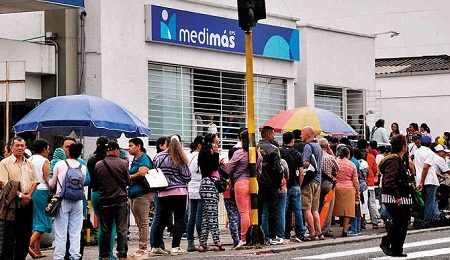 Medimás, bajo vigilancia especial en Cundinamarca