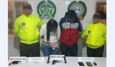 "Por fin cayeron alias ""Víctor"" y ""Yesica"" en Silvania, Cundinamarca"
