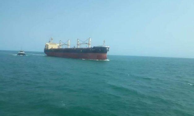 En la Guajira preocupados por buque que llegó de Italia
