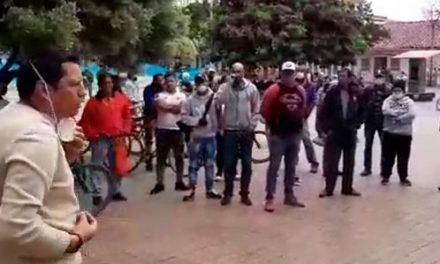Alcalde de Chía regaña a los habitantes