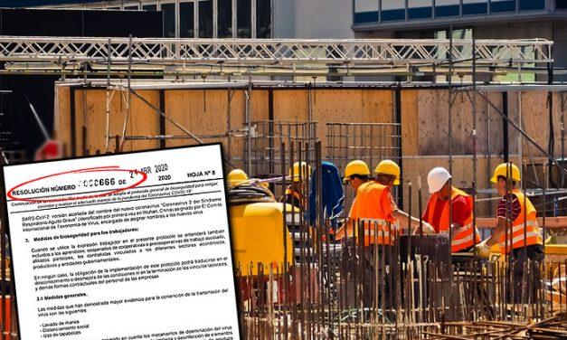 No estamos de acuerdo con empezar a trabajar este lunes: constructor