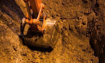 Comienza excavación para evaluar daño del tubo en Chía