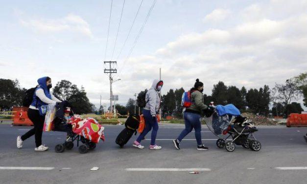 Cerca de 300 venezolanos fueron enviados desde Bucaramanga a la frontera