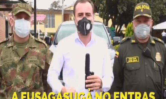 """""""El que salió se quedó por fuera"""": alcalde de Fusagasugá anuncia cierre del municipio"""