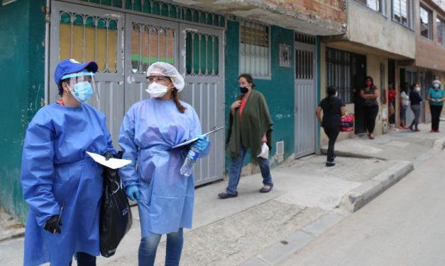Bogotá en  Alerta naranja, restricción de movilidad en barrios, nuevas medidas para contener la COVID 19