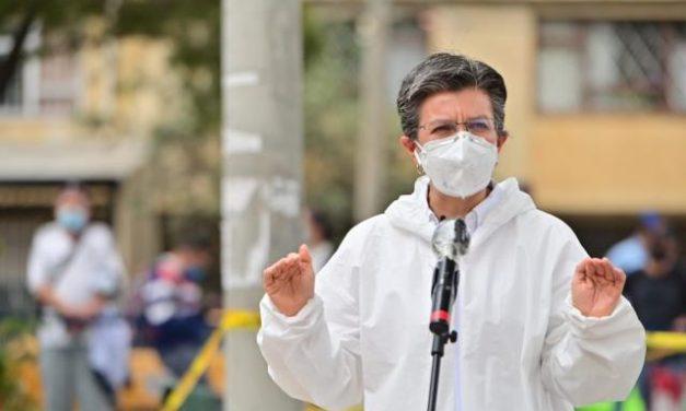 No hay reapertura económica: Claudia López