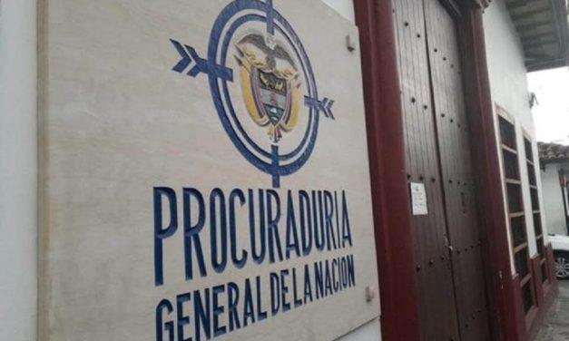 512 procesos disciplinarios por presuntas irregularidades en 26 gobernaciones y 272 alcaldías adelanta la Procuraduría