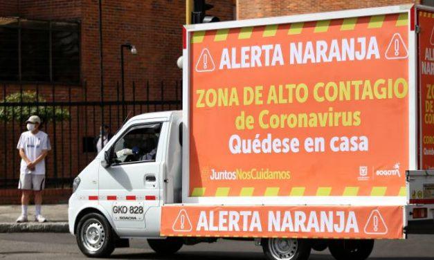 Cerca de que se decrete la alerta naranja en Bogotá