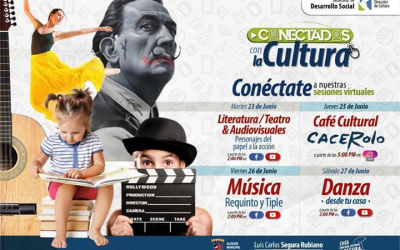"""Recuerda la agenda para esta semana de """"Conectados con la Cultura"""