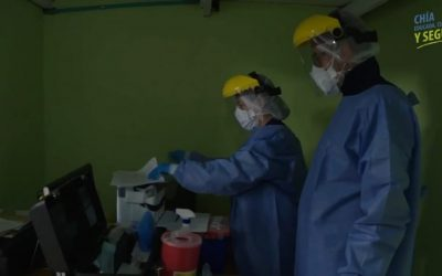 Inicia plan piloto de pruebas contra el coronavirus en Chía