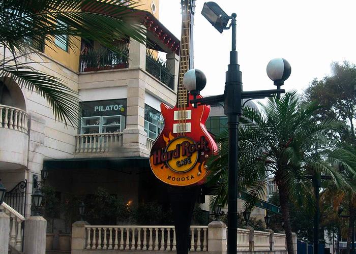 Otro ícono, Hard Rock Café cierra sus puertas en Bogotá