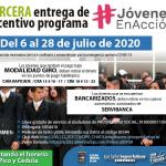 Chía avanza en la tercera entrega de los incentivos para 'Jóvenes en Acción',