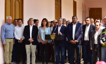Gobernadores y alcaldes apoyan la ampliación de aislamiento preventivo obligatorio