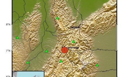 ¡ATENCIÓN! Fuerte temblor se sintió en Colombia esta tarde