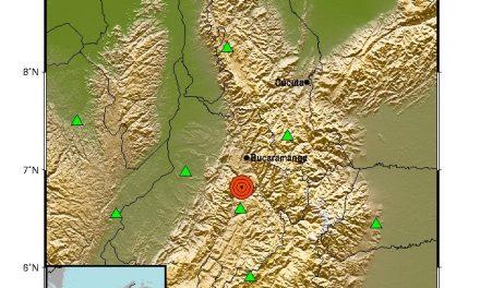 ¡Otra vez tembló en Colombia hoy! Nuevo sismo sacude el centro del país