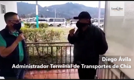 Video : Conduces y renovación de la Terminal de transporte de Chía